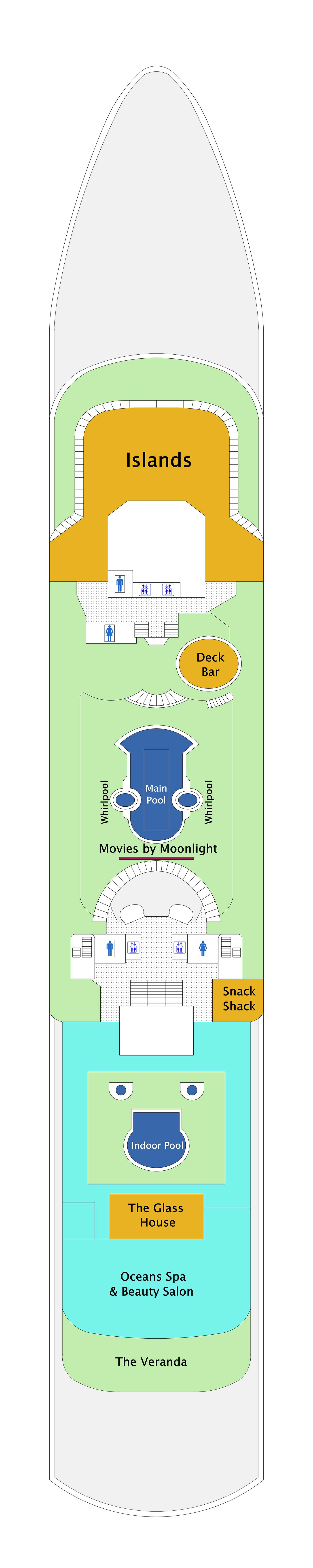 Marella Discovery deck plan 9