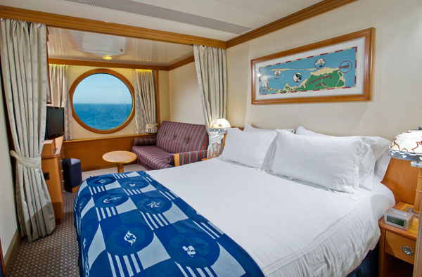 Disney Magic Deluxe Oceanview Stateroom Room