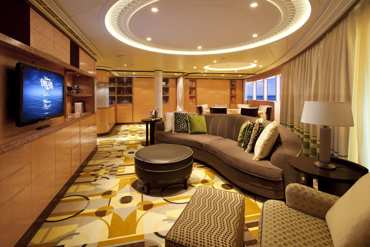 Disney Dream Concierge Royal Suite With Verandah Room