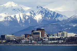 Anchorage, AK cruise port of call