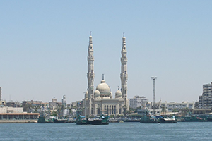 Suez Canal, Passage cruise port of call