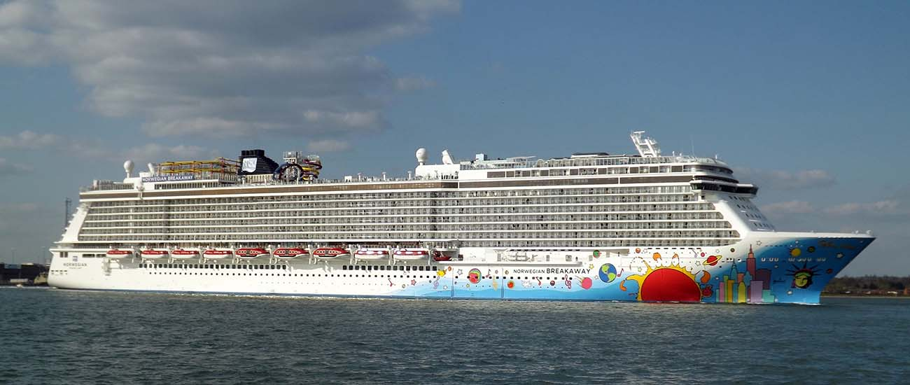 Norwegian Breakaway © Lewis William Harris/Wiki/CC BY 2.0