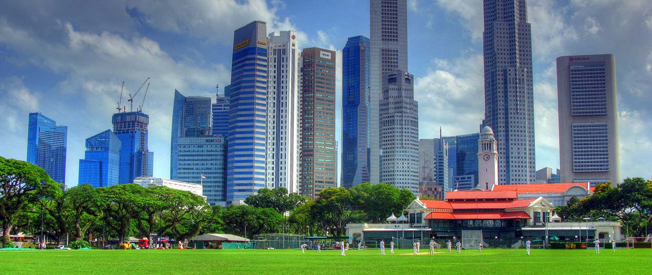Padang, Singapore © Robert Lowe/Flickr/CC