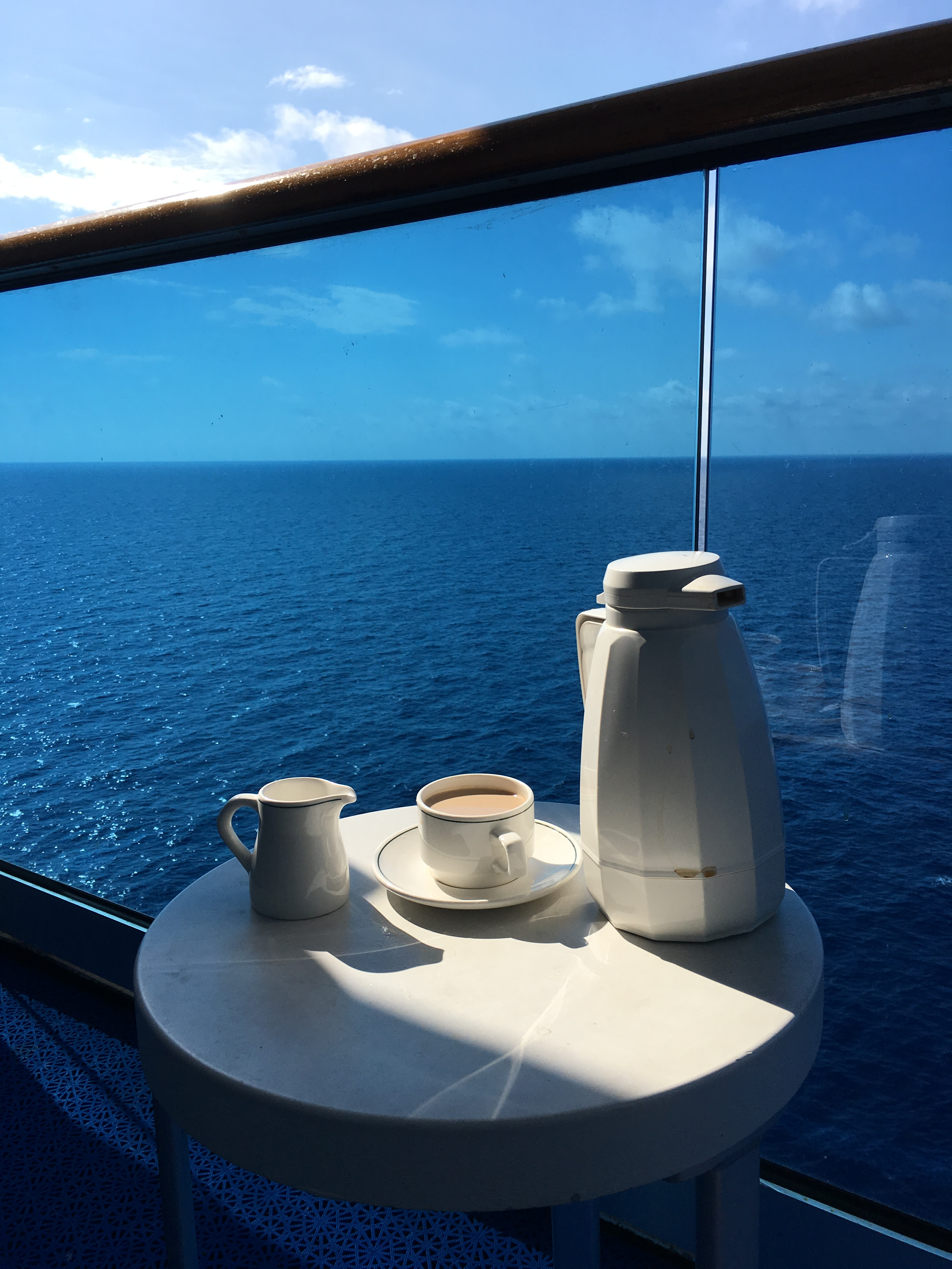 balcony on a cruise ship