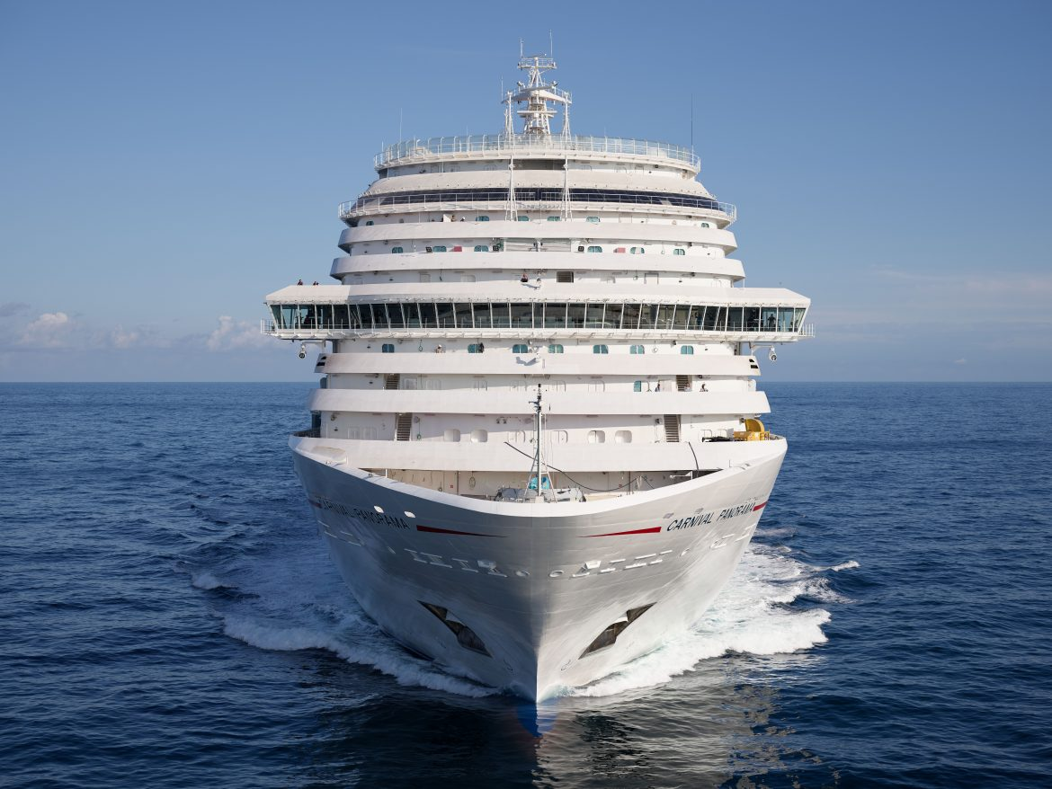 Start of Carnival Panorama Ship's Career Becomes Closer as She