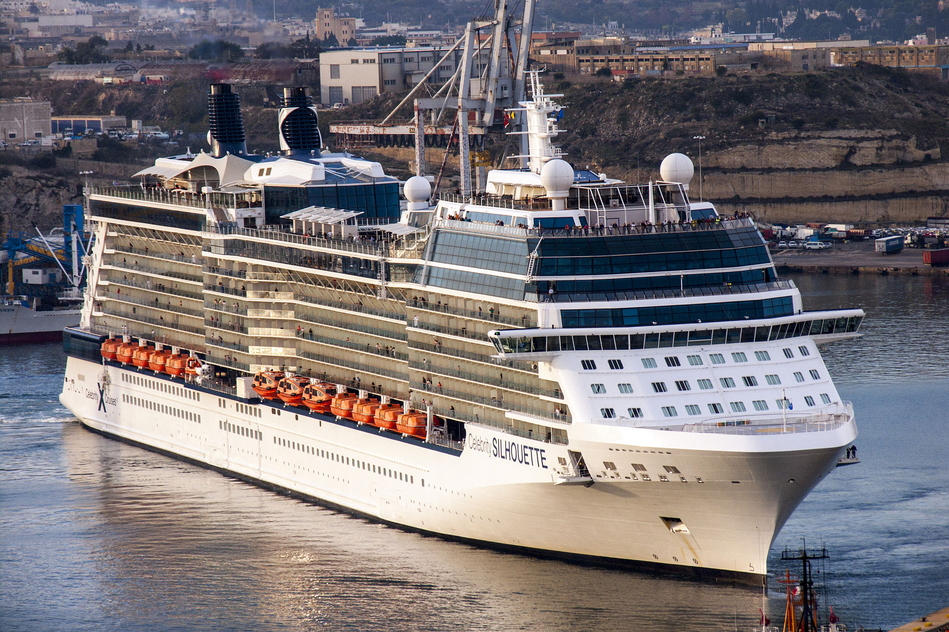 Celebrity Silhouette - Fully Guided Cruise Ship Tour ...