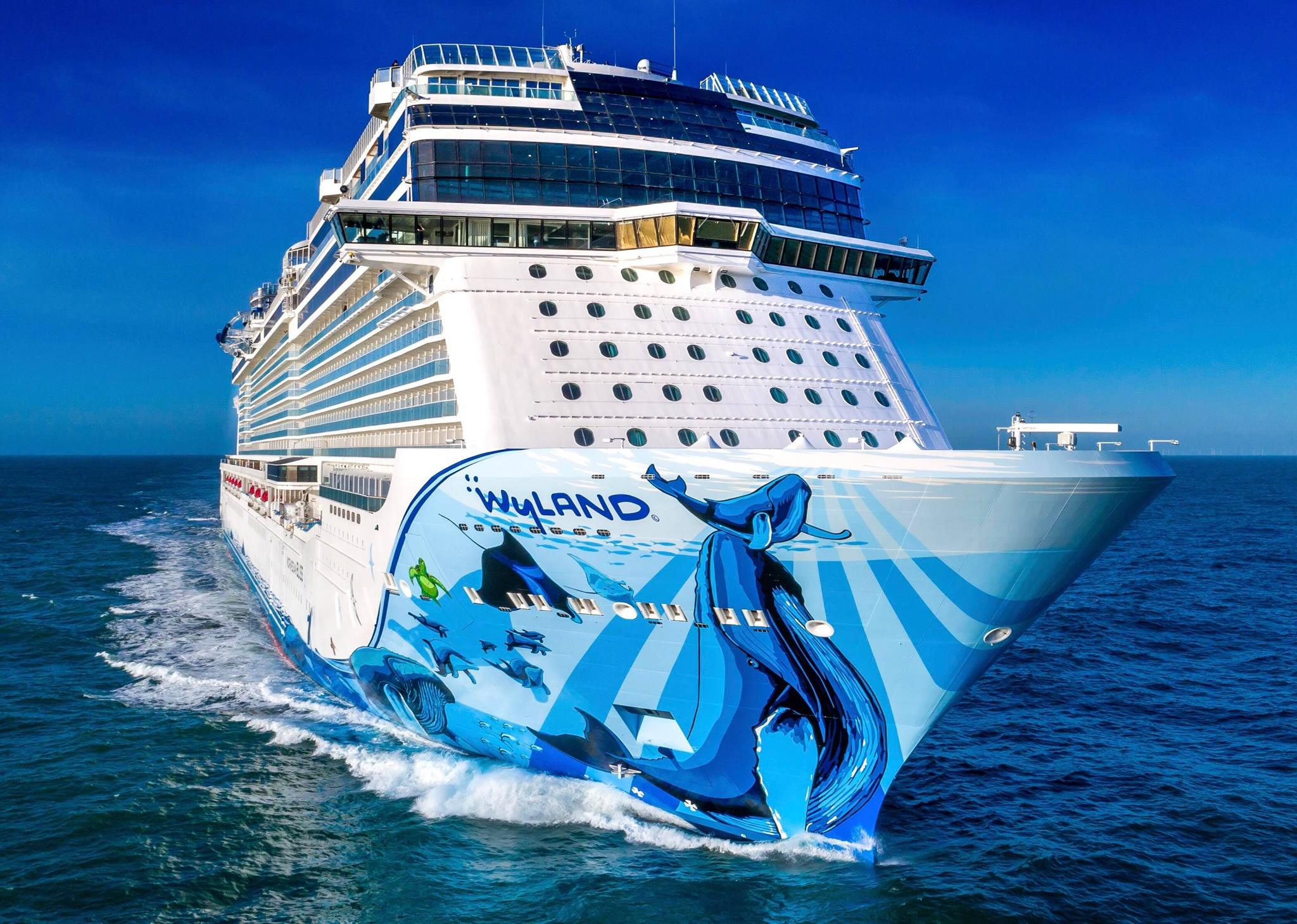 Norwegian Bliss cruise ship delivery