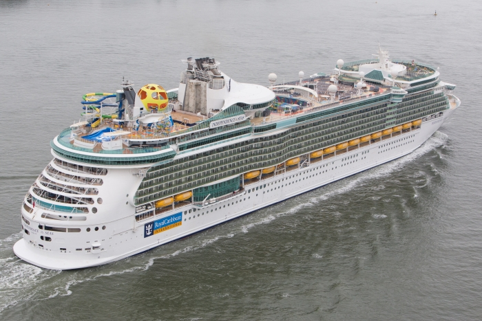 Independence of the Seas cruise ship refurbishment