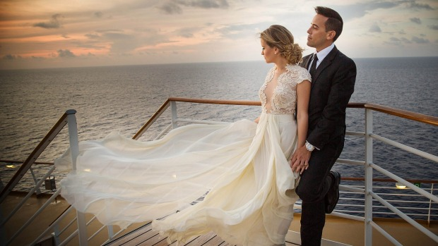 royal caribbean wedding