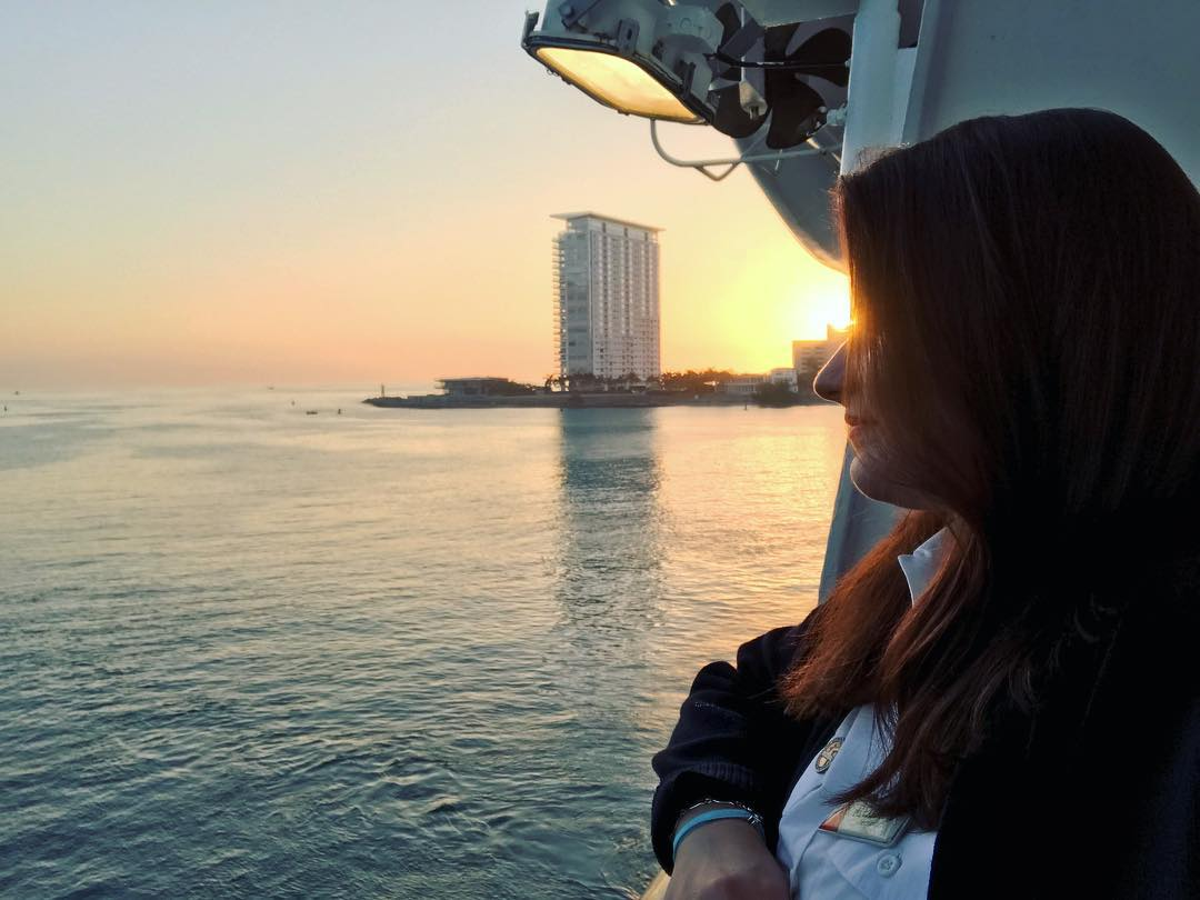 Life on a Cruise Ship for the Crew: Alexandra, Deck Cadet