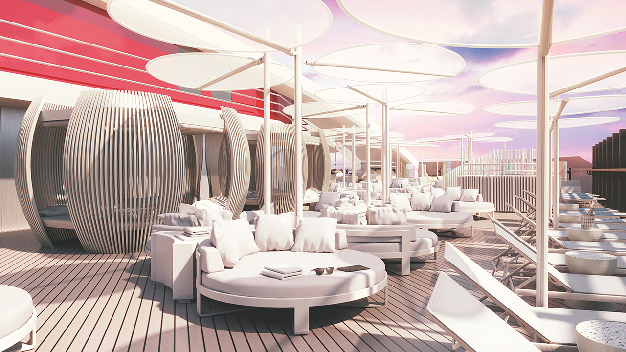 Virgin Voyages cruise ship