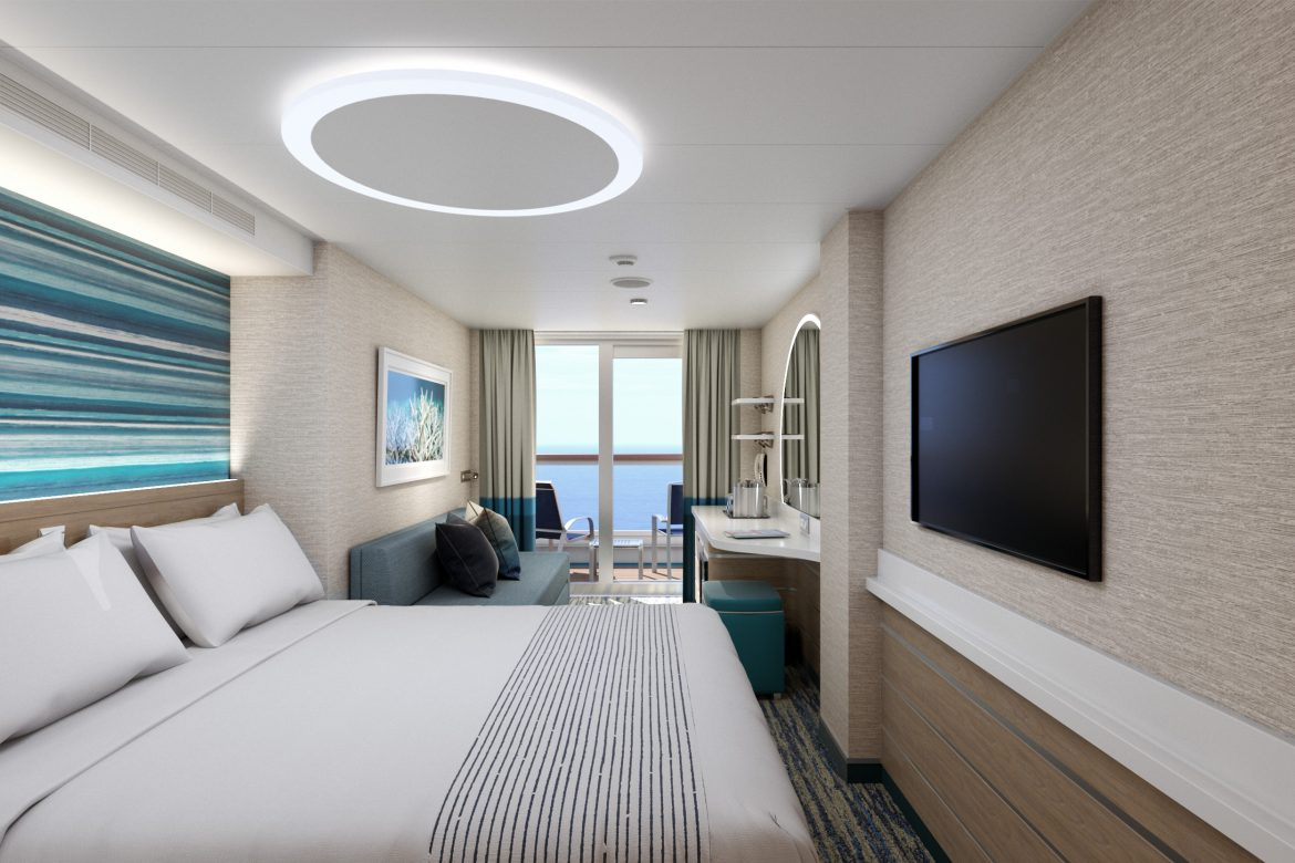 Mardi Gras cruise ship staterooms