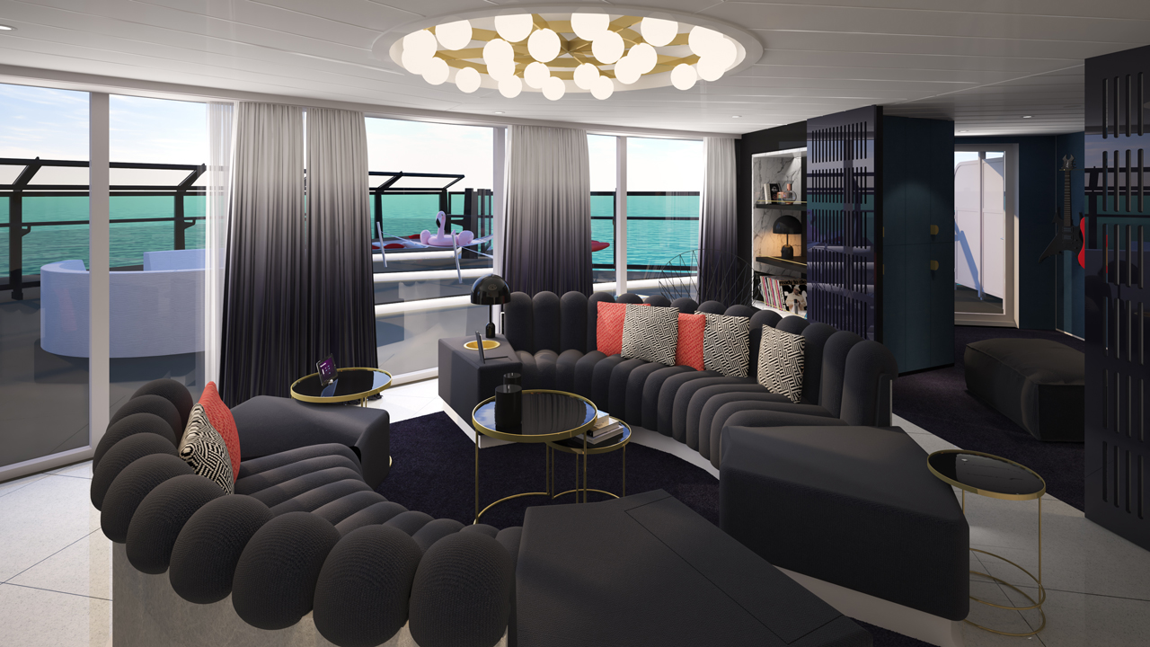 Virgin Voyages Scarlet Lady Suites