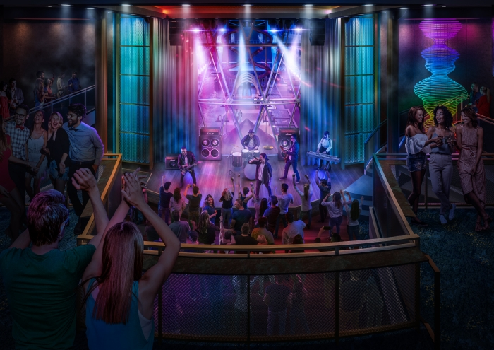Allure of the Seas cruise ship renovation