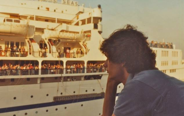 Peter Knego history of cruise ships