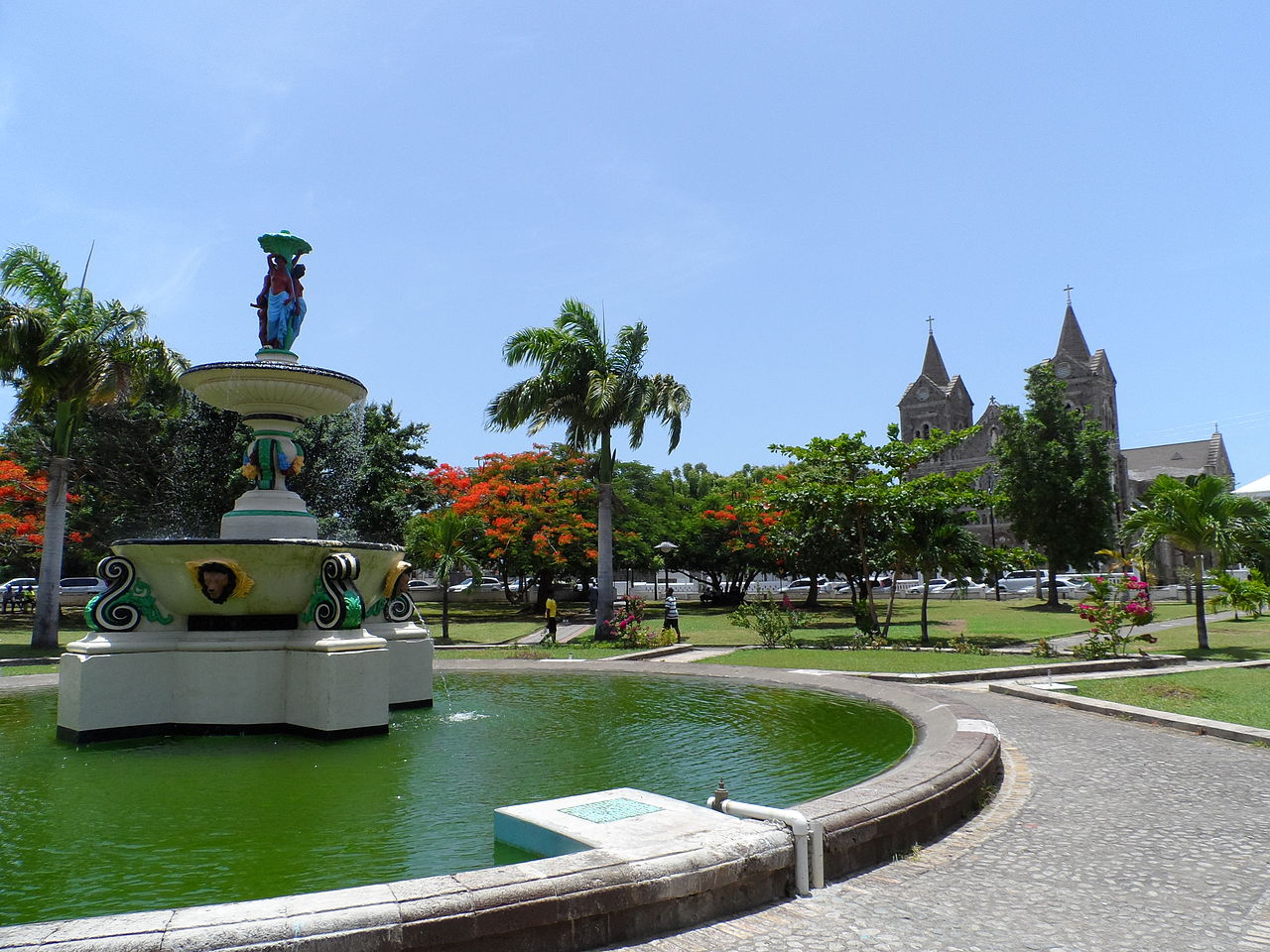 Independence Square St Kitts