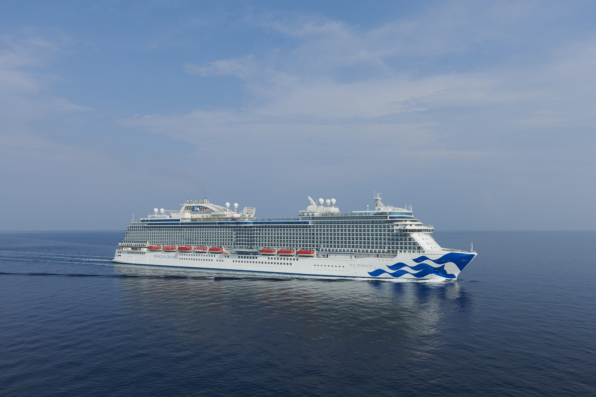 Sky Princess Cruise Ship Sea Trials