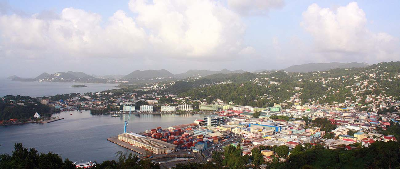 Castries, St. Lucia © Shawn/Flickr/CC BY-SA 2.0
