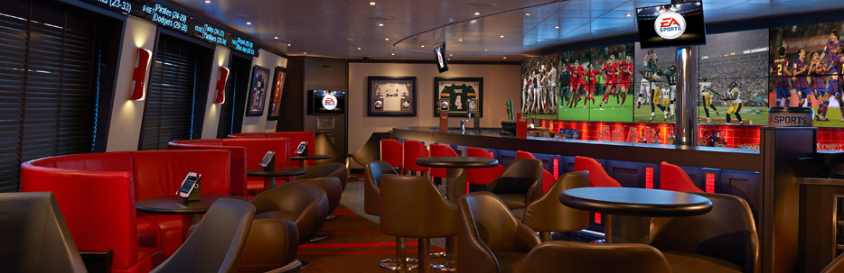 EA Sports Bar Carnival Freedom | CruiseBe