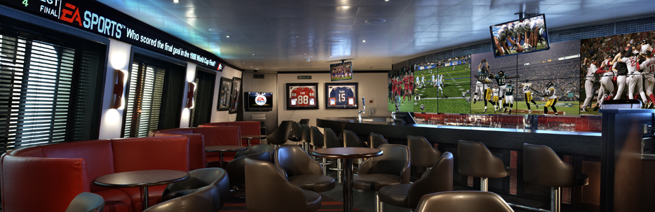 EA Sports Bar Carnival Glory | CruiseBe
