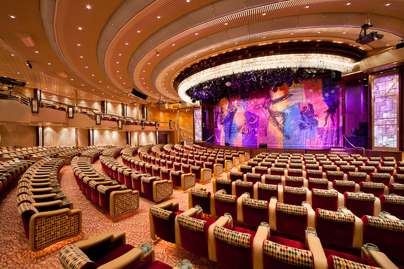 Image result for vision of the seas theatre