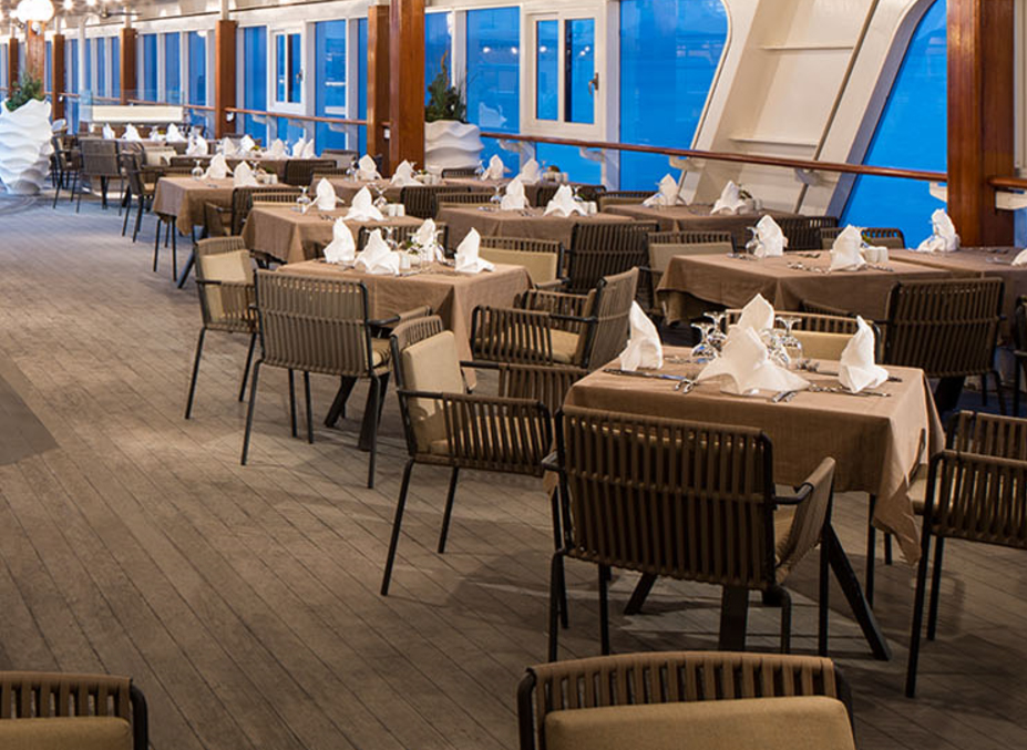 Image result for the patio and swirl and top azamara quest
