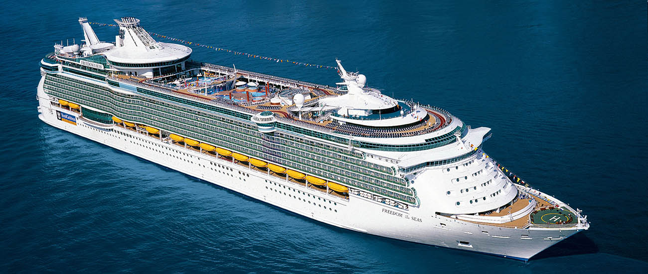 Freedom of the Seas © 2018 Royal Caribbean Cruises Ltd.