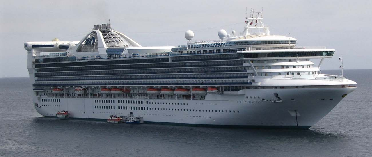 Golden Princess © Jean-Philippe Boulet/Wiki/CC BY 3.0 + GNU Free