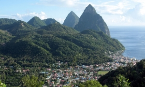 Top-10 landmarks of St. Lucia by CruiseBe