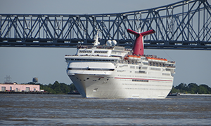 "© <a href=""https://commons.wikimedia.org/wiki/File:Carnival_Elation_leaving_the_Port_of_New_Orleans_1.JPG"" target=""_blank"" rel=""nofollow"">Eric Gunderson/Wikimedia</a>/<a href=""https://creativecommons.org/licenses/by-sa/3.0/deed.en"" target=""_blank"" rel=""nofollow"">CC BY-SA 3.0</a>"