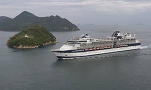 "© <a href=""https://commons.wikimedia.org/wiki/File:Celebrity_Millennium_at_Kurushima_Strait.jpg"" target=""_blank"" rel=""nofollow"">Spaceaero2/Wikimedia</a>/<a href=""https://creativecommons.org/licenses/by-sa/3.0/deed.en"" target=""_blank"" rel=""nofollow"">CC BY-SA 3.0</a>"