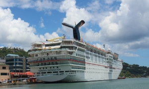 Carnival Fascination is Ready for a Dry Dock