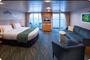 Oasis Of The Seas Accessible Family Ocean View Stateroom