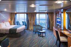 Oasis Of The Seas Accessible Junior Suite With Balcony Room