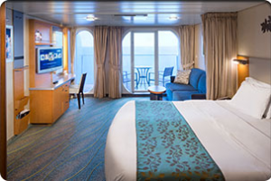 Oasis Of The Seas Family Ocean View Stateroom With Balcony