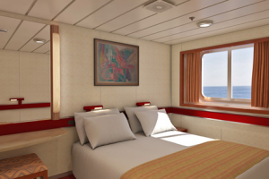 Carnival Fascination Ocean View Room Cruisebe