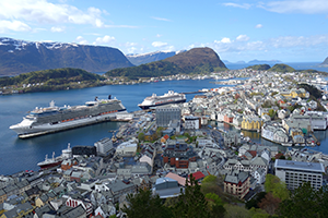 Alesund, Norway cruise port of call