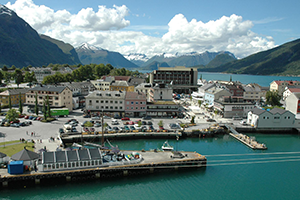 Andalsnes, Norway cruise port of call
