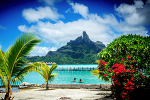 Bora Bora, French Polynesia cruise port of call