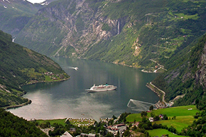 Geiranger, Norway cruise port of call