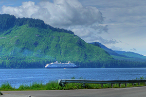 Icy Strait Point, AK cruise port of call