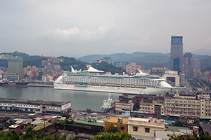 Keelung, Taiwan cruise port of call