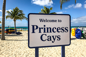 Princess Cays cruise port of call