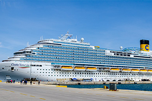 "© <a href=""https://commons.wikimedia.org/wiki/File:Costa_Venezia_docked_at_Corfu_port.jpg"" target=""_blank"" rel=""nofollow"">Luca Mauri/Wikimedia</a>/<a href=""https://creativecommons.org/licenses/by-sa/4.0/deed.en"" target=""_blank"" rel=""nofollow"">CC BY-SA 4.0</a>"
