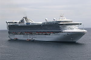"""© <a href=""""https://commons.wikimedia.org/wiki/File:Golden_Princess_tendering_in_Cabo_San_Lucas.JPG"""" target=""""_blank"""" rel=""""nofollow"""">Jean-Philippe Boulet/Wikimedia</a>/<a href=""""https://creativecommons.org/licenses/by/3.0/deed.en"""" target=""""_blank"""" rel=""""nofollow"""">CC BY 3.0</a>"""