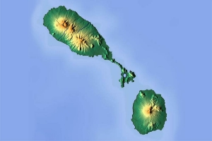 "© <a href=""https://commons.wikimedia.org/wiki/File:Saint_Kitts_and_Nevis_location_map_Topographic.png"" target=""_blank"" rel=""nofollow"">Dr Brains/Wikimedia</a>/<a href=""https://creativecommons.org/licenses/by-sa/3.0/"" target=""_blank"" rel=""nofollow"">CC BY-SA 3.0</a>"