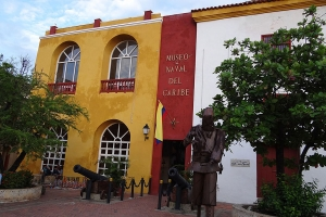 """© <a href=""""https://commons.wikimedia.org/wiki/File:Vista_frontal_del_Museo_Naval_del_Caribe._Cartagena._Colombia.JPG"""" target=""""_blank"""" rel=""""nofollow"""">Kamilokardona/Wikimedia</a>/<a href=""""https://creativecommons.org/licenses/by-sa/3.0/deed.en"""" target=""""_blank"""" rel=""""nofollow"""">CC BY-SA 3.0</a>"""